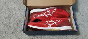 Asics Tartheredge Tenka Mens Running Shoes. Red & White. UK Size 10.5.