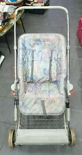 Vintage Silver cross child's baby pushchair pram buggy folding