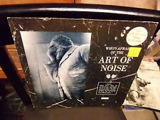 Art of Noise Who's Afraid OF LP 1984 Island Records EX german import