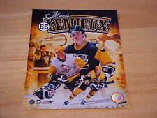 Mario Lemieux Portrait Plus Officially LICENSED 8X10 Photo FREE SHIPPING 3/more