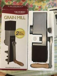 Victorio Hand Crank Grain Mill w/Clamp Base Model VKP1012