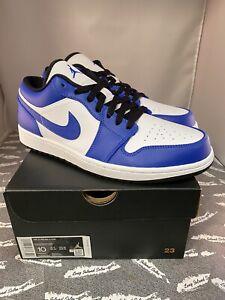 Air Jordan 1 Low Game Royal Blue Sz10