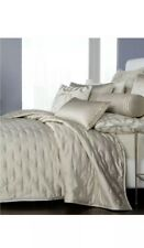 Hotel Collection Fresco Quilted King Coverlet & 2Quilted Standard Shams. Gold