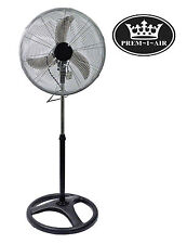 "Prem-I-Air 18"" Large Industrial Pedestal High Velocity Fan Garage Home Office"