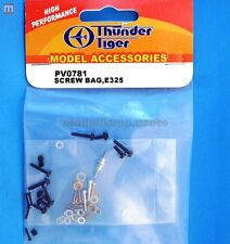 Thunder Tiger PV0781 Viti Titan E325 Screw Bag modellismo