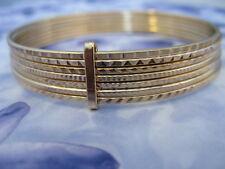 Bracelet Semainier Multifacette 60 mm Plaqué Or 18K MadeInFrance de Dolly-Bijoux