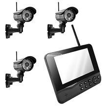 MT Vision Funk Videoüberwachung HS-300 Funküberwachungssystem 3 Kamera