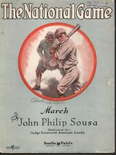 National Game 1925 John Philip Sousa Sheet Music