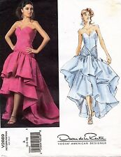 VOGUE Misses' Dress Oscar de la Renta Pattern V2889 Size 6-10