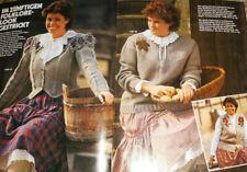 Neue Mode Sonderheft von 1982 Stricken & Häkeln für Vollschlanke Strickheft