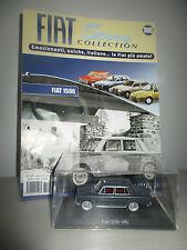 FIAT 1500 -1961 CON FASCICOLO FIAT STORY COLLECTION HACHETTE  SCALA 1:43