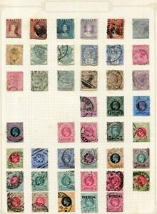 NATAL: Victoria-Edward VII Examples - Ex-Old Time Collection - Page (41695)