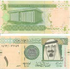 Saudi Arabien / Saudi Arabia - 1 Riyal 2012 UNC - Pick 31c