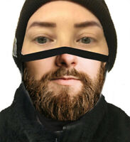 Beard Face Mask Unisex Funny Long Beard Mustache Washable Reusable Nose Wire