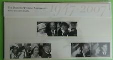 2007 GREAT BRITAIN PRESENTATION PACK No 403 + MS 'DIAMOND WEDDING ANNIVERSARY'