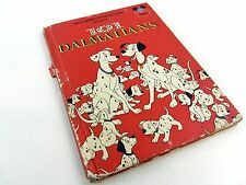 Walt Disney Books - 101 DALMATIANS 1974 Book Club, binding a little loose