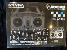 AIRTRONICS SANWA SD-6G DIGITAL PROPORTIONAL SYSTEM NIB
