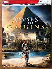 Assassin's Creed Origins, Official Guide, including map, used