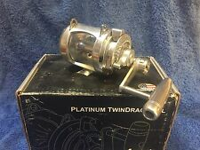Accurate Platinum ATD-12 2 speed twin drag game reel NEW