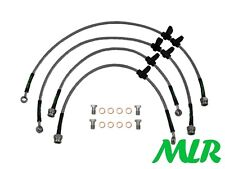 HONDA INTEGRA TYPE R DC2 STAINLESS STEEL BRAIDED BRAKE LINES HOSES PIPES MLR.VK