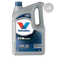Valvoline SynPower 10w-40 Engine Oil - 2 x 5 Litres 10L