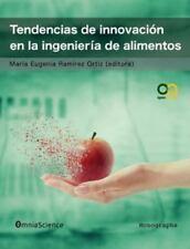 Tendencias de Innovacion En La Ingenieria de Alimentos (Paperback or Softback)