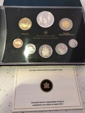 2012 silver Canada Proof Set, double dollar war of 1812
