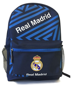 real madrid fc backpack bag mochila soccer f c official licensed authentic new