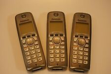 Three Panasonic KX-TGA410 Handsets