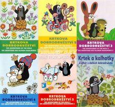Little Mole, Krtek Complete Adventures Krtecek Czech animation 6 dvd Best Value