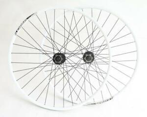 Alex Rims MD17 Shimano 29er MTB Bike Wheelset Disc White QR New Blemished