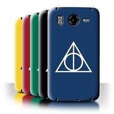STUFF4 Back Case/Cover/Skin for HTC Desire HD/G10/Magic Hallows Inspired