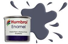 Humbrol Enamel 145 Medium Grey Matt 14ml AA1571 grigio opaco