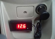 8V-30V Digital Red LED Car Auto Vehicle Battery Voltage Gauge Volt Meter New