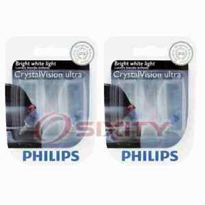 2 pc Philips Front Side Marker Light Bulbs for Ferrari F355 F355 Berlinetta on