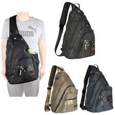 Mens Womens Laptop Large Sling Bag Backpack Chest Pack School Shoulder Bag