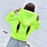 Gym Mesh Long Sleeve Hooded Shirt Fitness Yoga Crop Top Women Jacket Sportswear