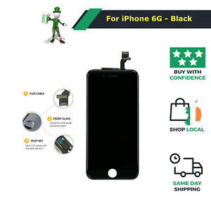 Replacement LCD Display Touch Screen Digitizer Assembly For iPhone 6 (4.7) Black