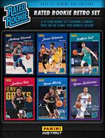 Isaiah Joe RC - 2020-21 PANINI NBA RATED ROOKIE RETRO Short Print - (PRE-SALE)