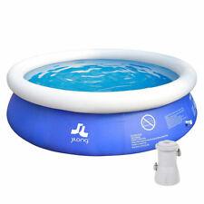 Piscina fuoriterra tonda gonfiabile 300cm con pompa filtro acqua per bambini