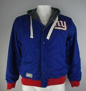 New York Giants NFL G-III Men's Reversible Snap-Up Jacket