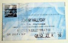 JOHNNY HALLYDAY rare billet ticket concert FRANCE Zénith Orléans 14/07/1999