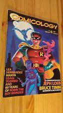 COMICOLOGY #1 Comics Fanzine Magazine SPRING 2000 Loeb Timm Manya Robin Wonder