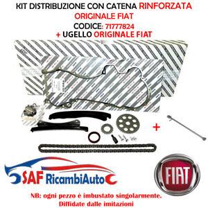 KIT DISTRIBUZIONE CATENA RINFORZATA + UGELLO FIAT 1.3 MJET PUNTO PANDA 71777824
