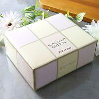 ☀Shiseido Beauty up cotton 108 sheets faicial makeup