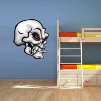 Color Wall Vinyl Sticker Decals Skull Poster Horror (Col39)
