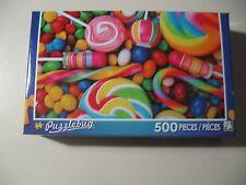 500 pc Puzzle, Puzzlebug: Candy Swirls, Brand New & Sealed