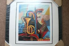 IGOR KOVALEV SYMPHONY I SIGNED LIMITED EDITION /250 ART SERIGRAPH PRINT (FRAMED)