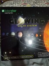 Glow in The Dark Stars and Planets, Bright Solar System Wall Stickers -9 Glowing