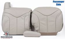 2000 GMC Yukon XL SLT -Passenger Complete Replacement Leather Seat Covers Tan
